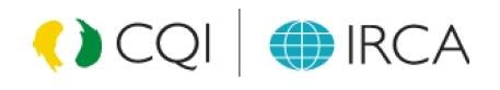 Certificación Auditor Jefe CQI IRCA