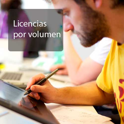 licencias por volumen