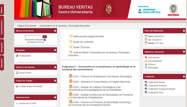 Campus Virtual Bureau Veritas